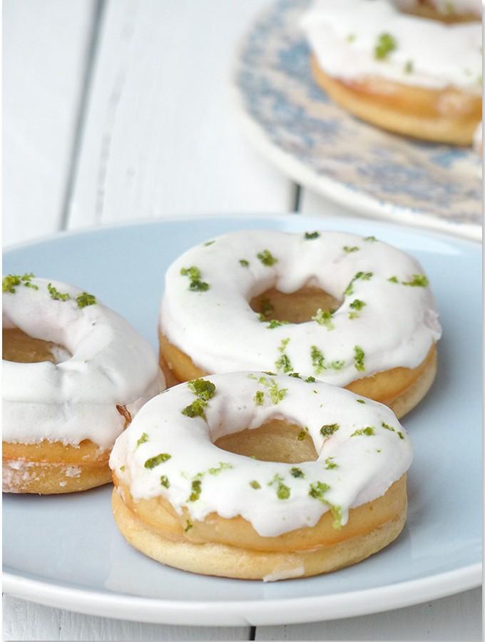 Donuts aux deux citrons