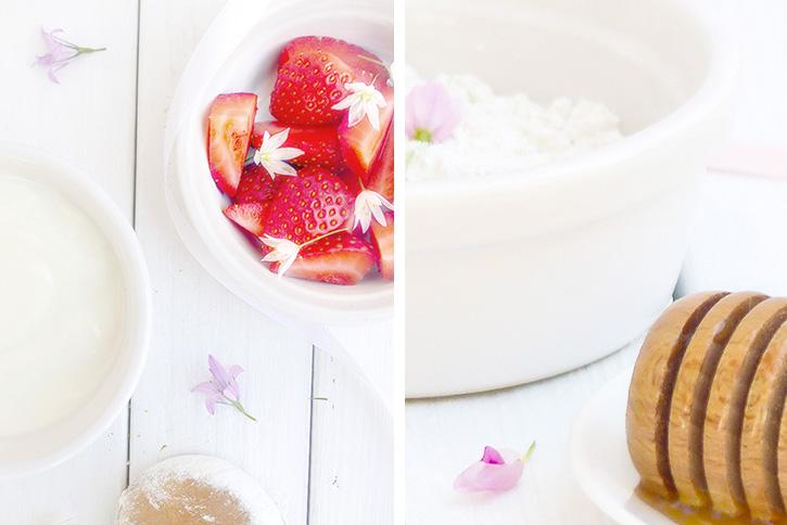 Masque coup d'éclat à la fraise