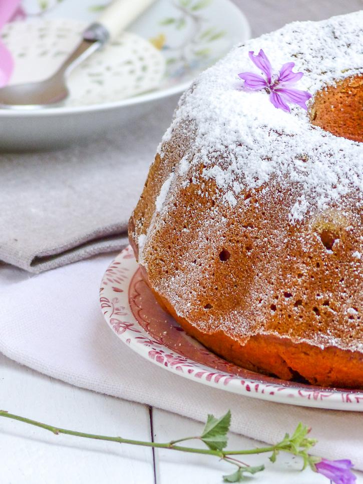 gâteau au potiron et cranberries