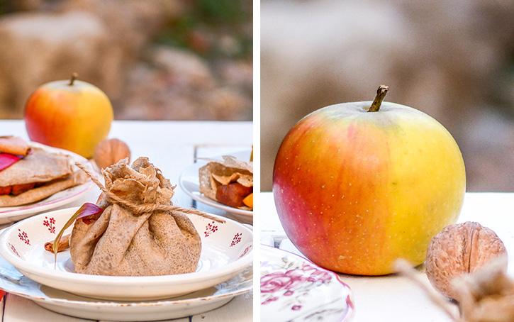 Galette de sarrasin aux pommes