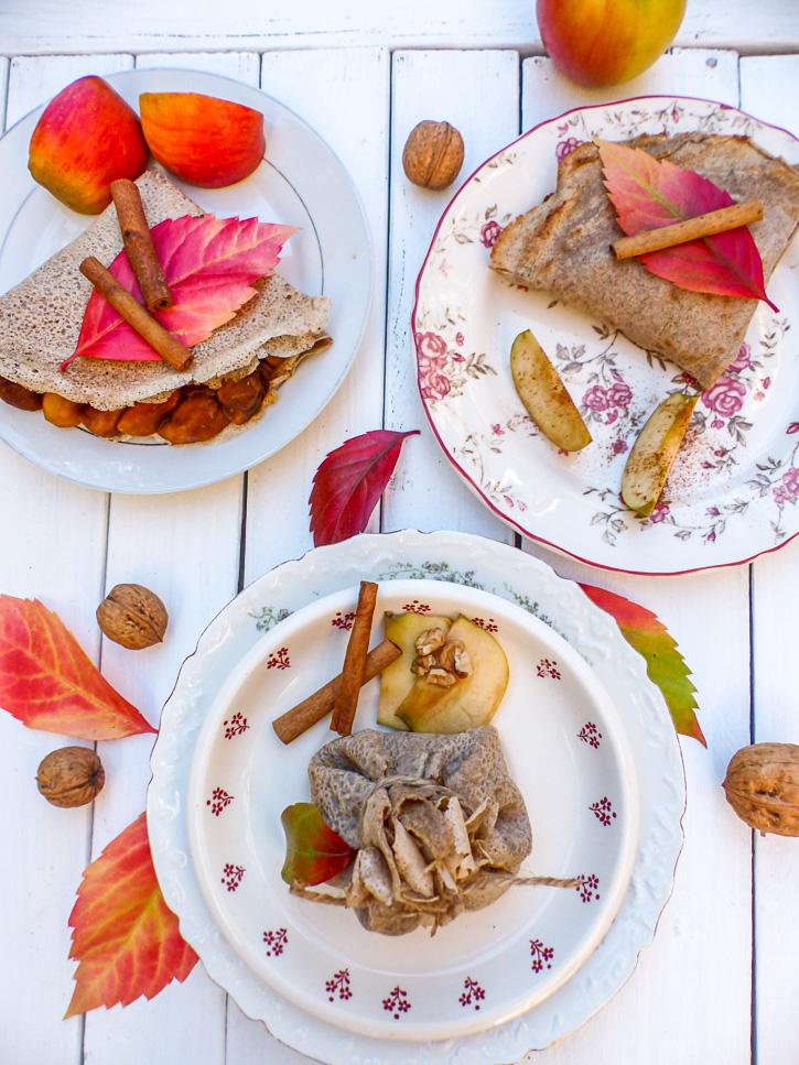 galette aux pommes et cannelle