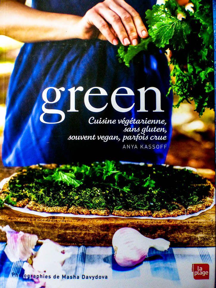 Green livre de cuisine végétarienne