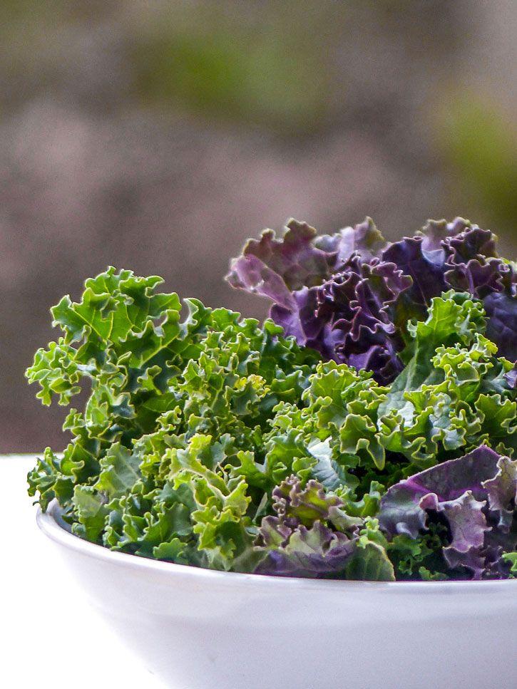 kale pour salade quinoa