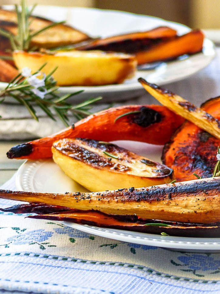 Légumes anciens au sirop d'érable