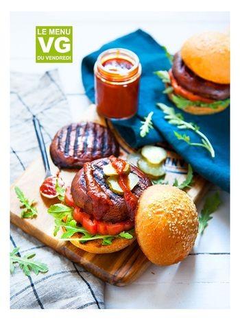 Menu VG barbecue vegan accueil