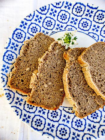 Pain sans gluten au sarrasin