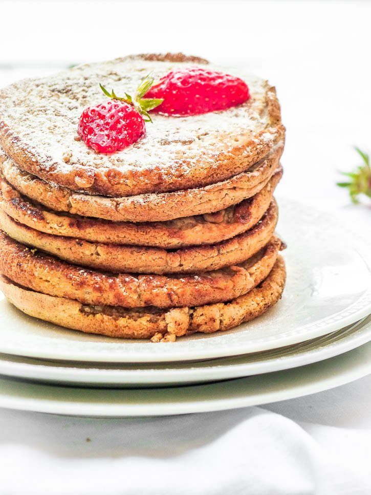 Pancakes vegan avoine