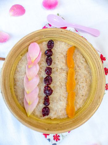 Porridge healthy épices et fruits secs #vegan