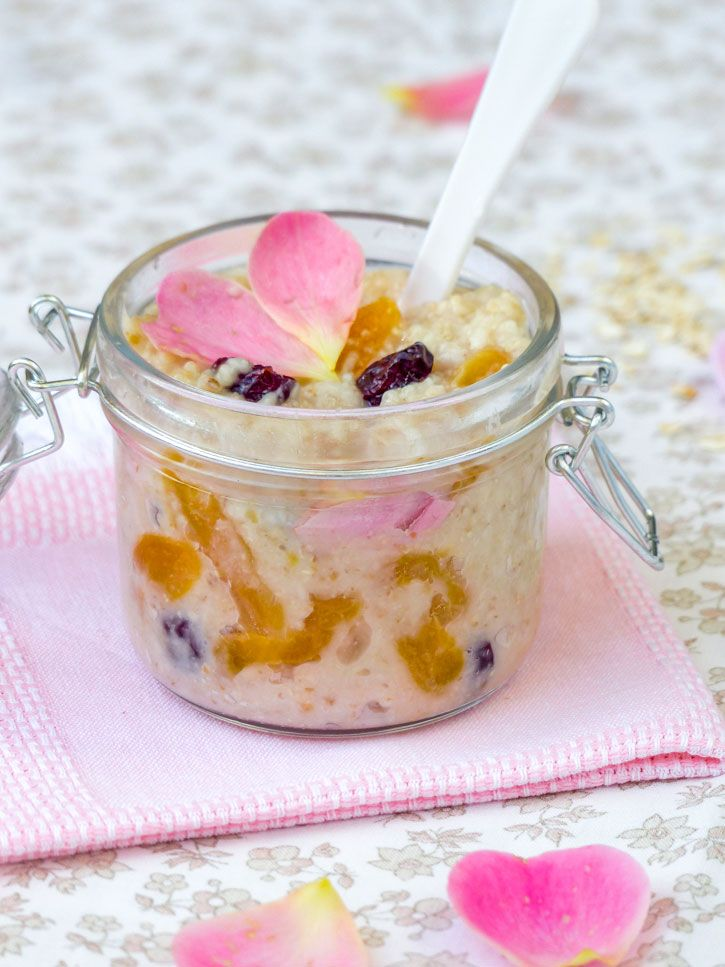porridge fruits secs