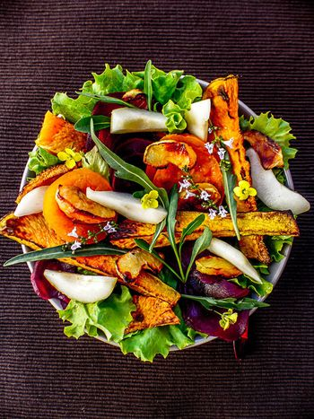 Salade automnale