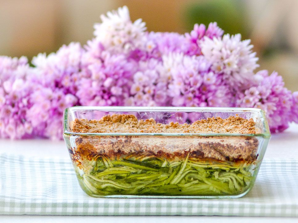 crumble courgette
