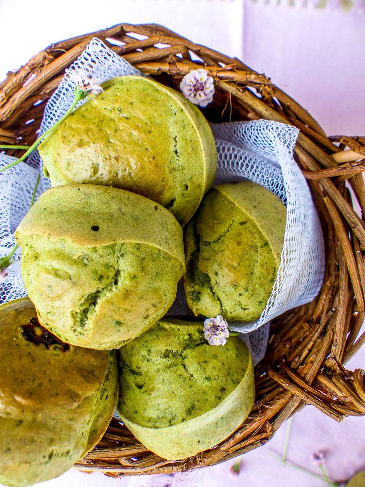 panier de muffins salés
