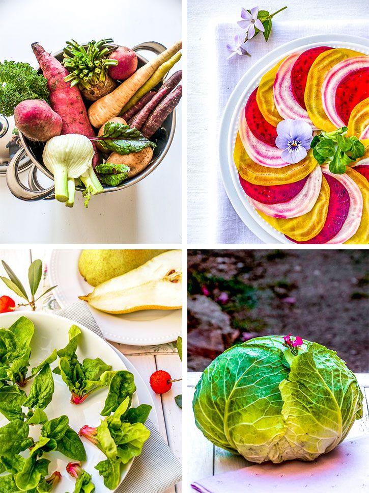 que manger en hiver, des légumes